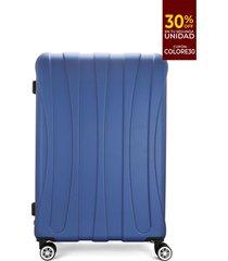 maleta azul-negro colore