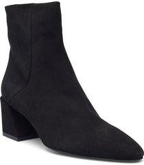furla block shoes boots ankle boots ankle boot - heel svart furla