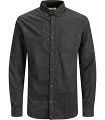 skjorta jjeclassic melange shirt l/s au20 sts