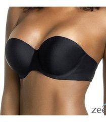 suti㣠bojo adesivo costas nuas preto honey be sut030 preto - preto - feminino - dafiti
