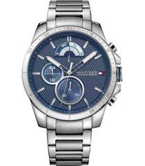 tommy hilfiger men's sport stainless steel bracelet watch 40mm