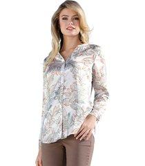 blouse amy vermont wit::multicolor
