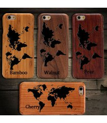 world map wooden wood phone case for iphone 6s plus 6 6 plus 5s samsung cover