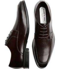 kenneth cole techni-cole elliot brown apron toe dress shoes