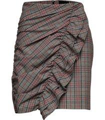 balco skirt kort kjol multi/mönstrad birgitte herskind