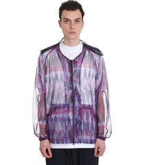south2 west8 casual jacket in viola polyester