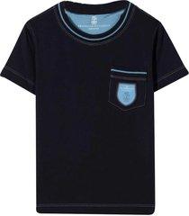 brunello cucinelli blue t-shirt