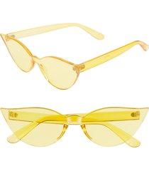 women's rad + refined mono color cat eye sunglasses -