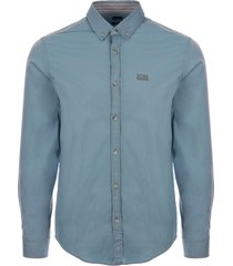 boss biado shirt - aqua 50398979