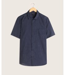 camisa manga corta estampada con bolsillo
