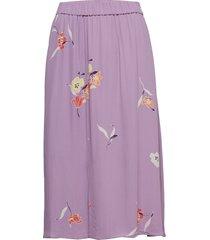 lissa skirt knälång kjol lila second female