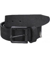 cinturón cuero variedad de texturas negro panama jack