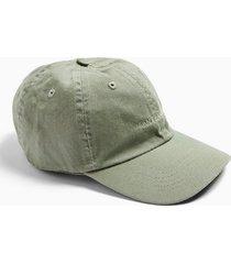 mens green sage embroidered san francisco cap