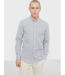 morris lucas button down shirt skjortor navy