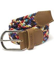 cinturón trenzado colores doshka