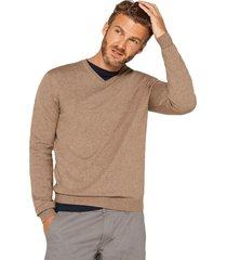 sweater cuello en v beige esprit