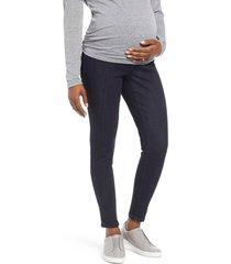1822 denim ankle skinny maternity jeans, size x-large in rinse at nordstrom
