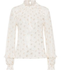 maglia di mesh in fantasia lucida (bianco) - bodyflirt