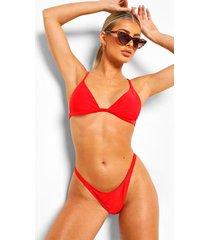 essentials tanga bikini broekje, rood