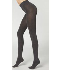 calzedonia 100 denier total comfort soft touch tights woman dark grey size 4