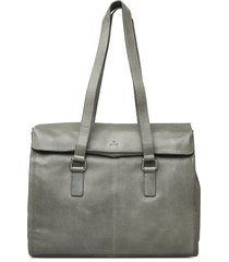napoli working bag 13' simoni bags top handle bags grijs adax