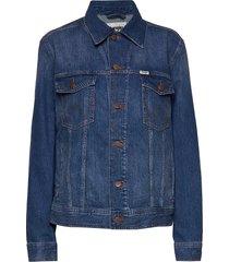 authentic jacket jeansjack denimjack blauw wrangler
