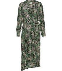 jungle dream duralla jurk knielengte groen mads nørgaard