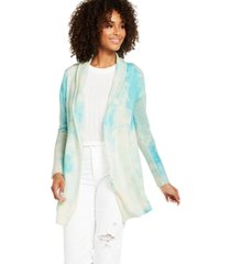 charter club tie-dye cashmere cardigan, created for macy's