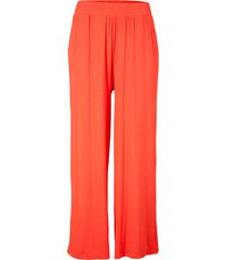 pantaloni cropped in jersey (arancione) - bpc bonprix collection