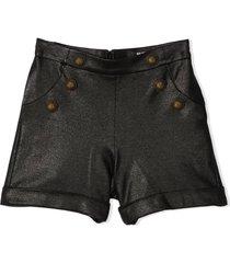 balmain shorts with buttons