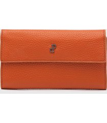billetera naranja prüne