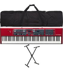 combo nord stage 3 88 piano base estuche