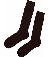 calzedonia - short egyptian cotton socks, 42-43, brown, men