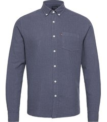 peter lt flannel shirt overhemd casual blauw lexington clothing