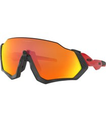 oakley men's flight jacket polarized sunglasses