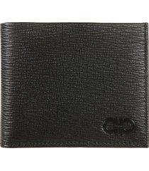 salvatore ferragamo classic logo bifold wallet