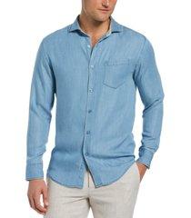 cubavera men's one-pocket shirt