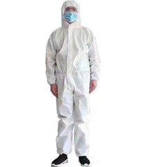 siameses civil ropa protectora de polvo de aislamiento traje vestido ropa 1 pieza