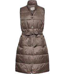 celinacr waistcoat vests padded vests beige cream