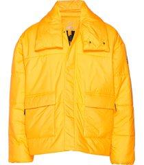 big baffle jkt fodrad jacka gul adidas performance
