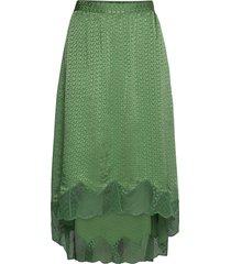 joslin jac zv 3d skirt lång kjol grön zadig & voltaire