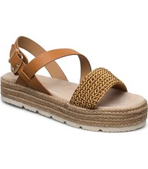 daisywall sandal sandaletter expadrilles låga brun gant