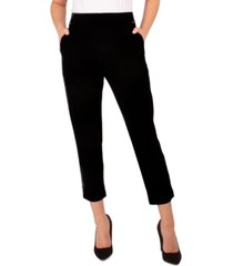 ny collection petite ponte-knit pull-on pants