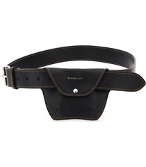y/project pocket leather belt