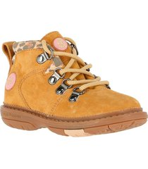 botin cuero new 101 tri camel hush puppies