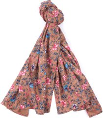 barbour laura ashley spruce floral-print scarf
