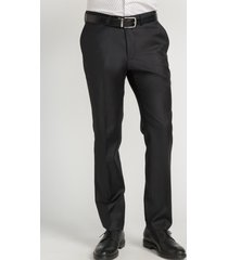 pantalón formal liso negro perry ellis