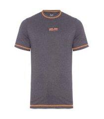 t-shirt masculina rooney - cinza