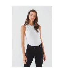 camiseta pesponto - off white 46
