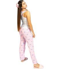 pijama pantalón dama color coral womanpotsherd ref: pant